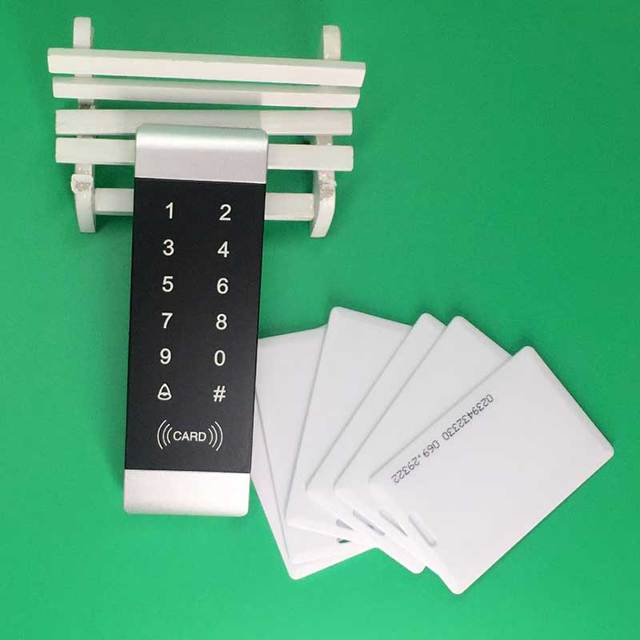 Banrd Nuevo de Seguridad De Alta seguridad Cerradura de La Puerta de Entrada de Proximidad RFID Sistema de Control de Acceso 1000 Usuarios 10 Tarjetas RFID ENVÍO GRATIS