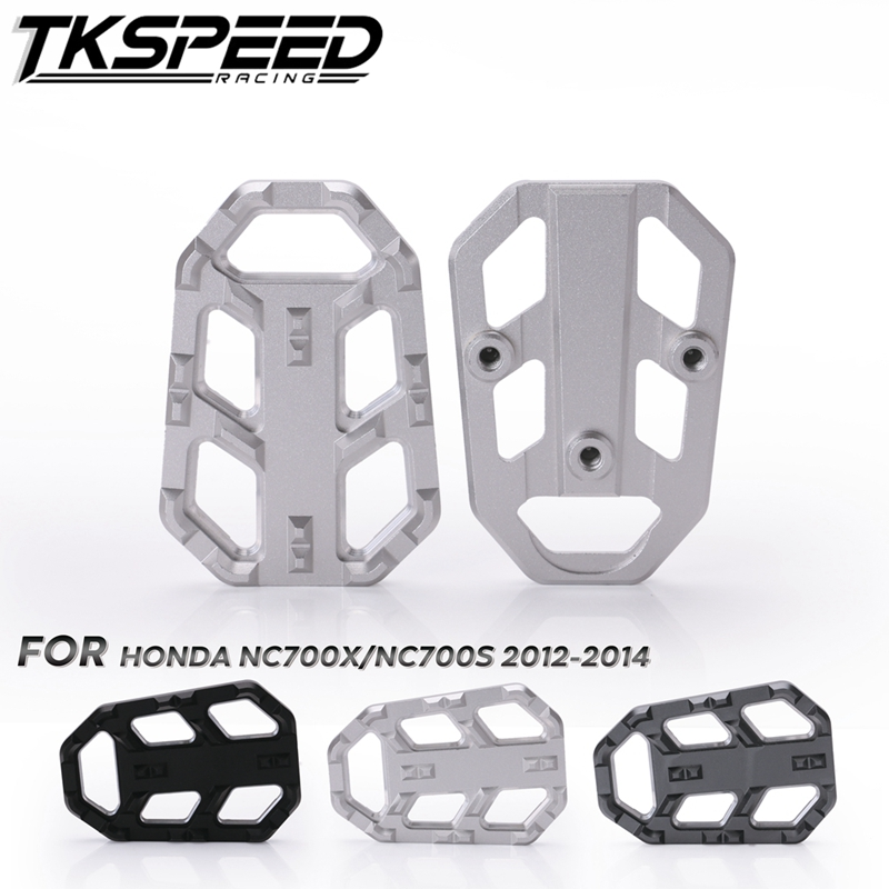Motorbike CNC Aluminum Foot Pegs Footpegs Footrests For Honda NC750X NC750S 2014-2018 &NC700X NC700S 2012-2014 &CB500X 2015 2016