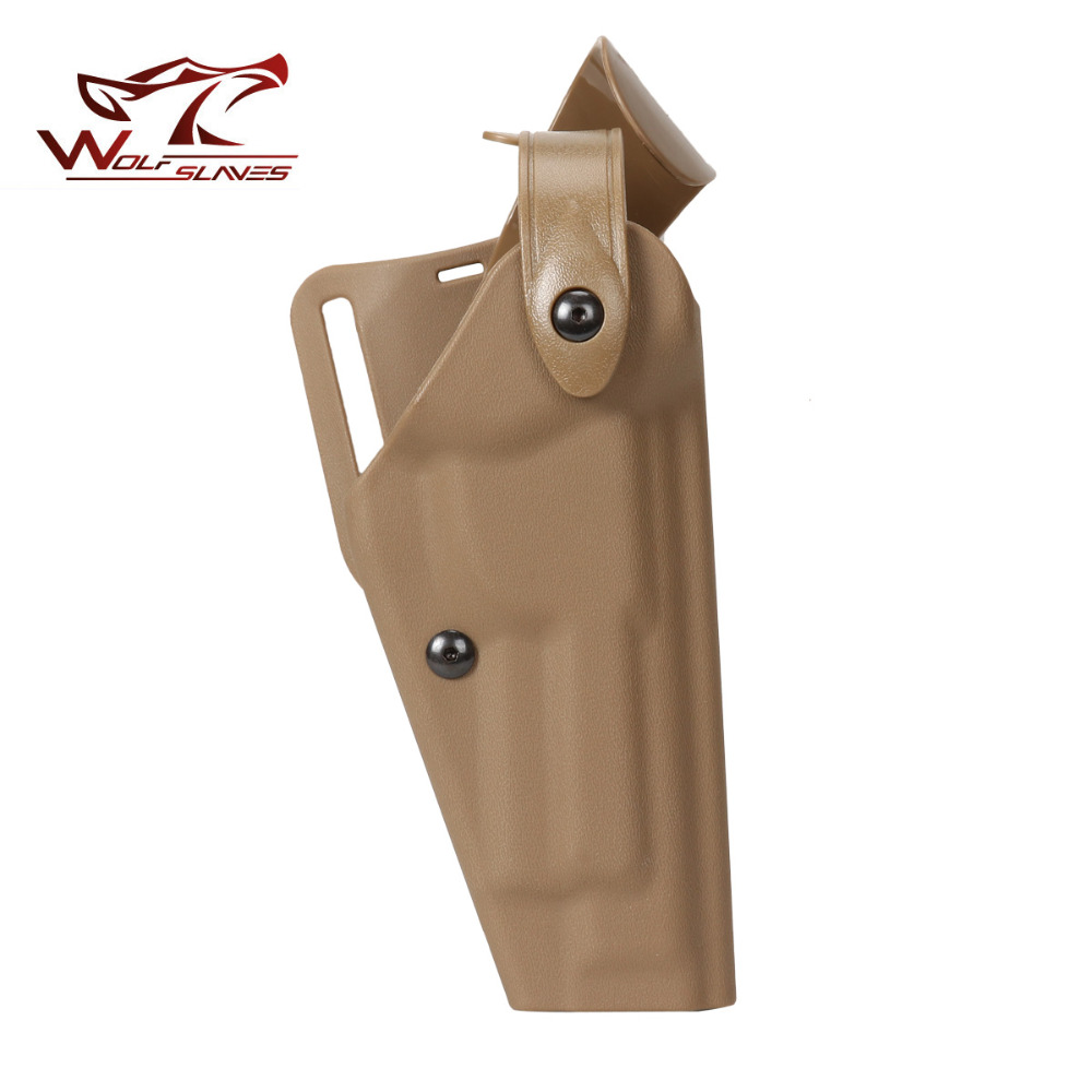 Tactical Military Airsoft Pistol Safriland 6320 Holster RH Without Flashlight For M92 Gun Holster