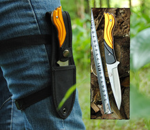 Luxury Leggings/Paratroopers Knife Stainless Steel Diving Fixed Knife Outdoor Survival Camping Hunting Tactical Knife