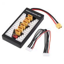 Multi 2 s-6s параллельный сбалансированный зарядка совета xt60 разъем для rc lipo зарядное устройство b6ac a6 720i параллельно зарядки пластины борту