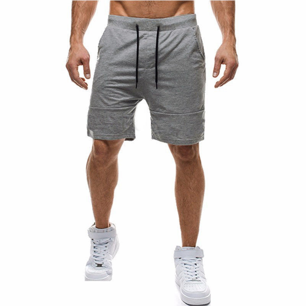 Board Shorts 2018 New Hot Mens Casual Muscle Printed Beach Work Casual Men Short Trouser Shorts Pants For Male Drop Shipping