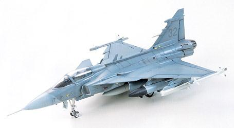 Assembly Model Plane 2 JAS - 39 A Gripen Gripen 60759 DIY Model