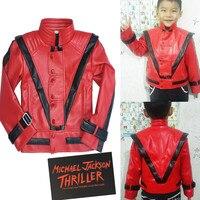 RARE MJ Michael Jackson Thriller Children Kids Jacket Costumes Gift Perfromance Party Birthday Halloween Costume Christmas Fans