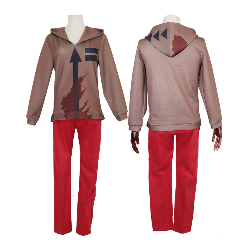 Anime Angels Of Death Zack Ray Rachel Gardner Isaac Foster Outfit Set Cosplay Costume Pullover Tops Pants Uniform Suit Wigs