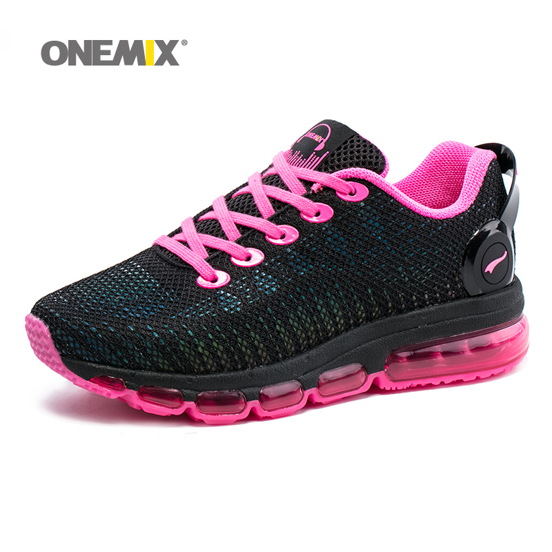 цены New Onemix air women running shoes sneakers lightweight colorful reflective mesh vamp for outdoor sports jogging walking shoes
