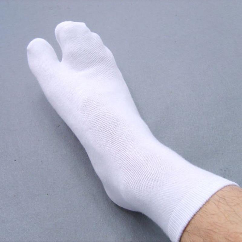 Free Shipping 5 Pairs Unisex Japanese Kimono Geta Split Toe   Socks   Clog Flip Flop Cotton Tabi Meias Harajuku