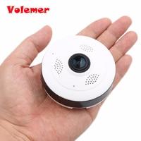 Volemer Draadloze Wifi 2.4 GHZ Mini Camcorders IP Camera 360 Graden Panoramische Fisheye 3D VR Groothoek Ondersteuning IR Night Motion