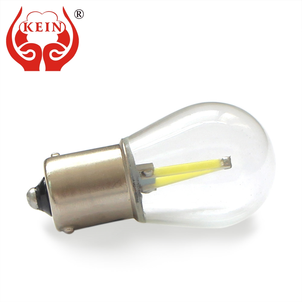KEIN p21w LED 1156 ba15s COB car Bulb 7506 1157 bay15d P21/5W Brake Lights Reverse Lamp S25 Turn Signal light 12V 24V white auto 2x 12v 24v auto car led light ba15s 1156 p21w led 50 smd 50smd high quality turn signal light bulb turn lamp white yellow red
