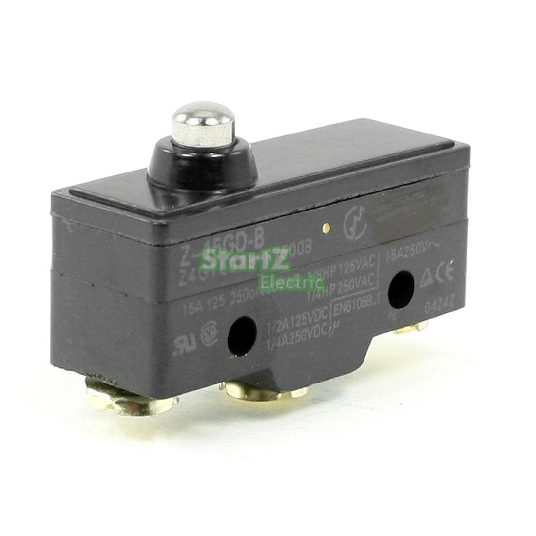 Short Push Plunger Normally Open/Close Basic Limit Switch Z-15GD-B