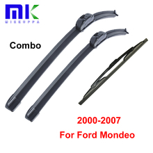 Blades For Ford Mondeo 3 Estate 2000-2007 Front And Rear Wiper Windshield Windscreen Glasses Wipers Auto Car Accessories