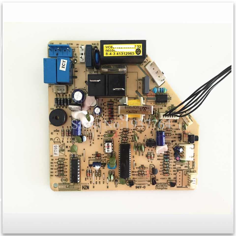 95% new for Haier Air conditioning computer board circuit board 0010403453 KFRD-33GW/Z1 good working 95% new for haier refrigerator computer board circuit board bcd 198k 0064000619 driver board good working