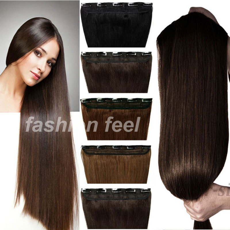 Maga Long Hair 30 Inches 76CM Straight Clip In Extensions Braiding 5Clips On Sexy Women Party FASHION NEW STYLISH Aliexpress