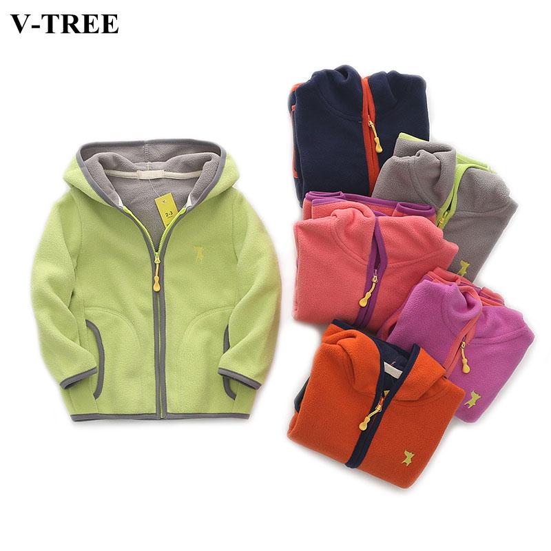 7aee7a224 Long Sleeve Boys Jacket Autumn Winter Children Outerwear Fleece ...