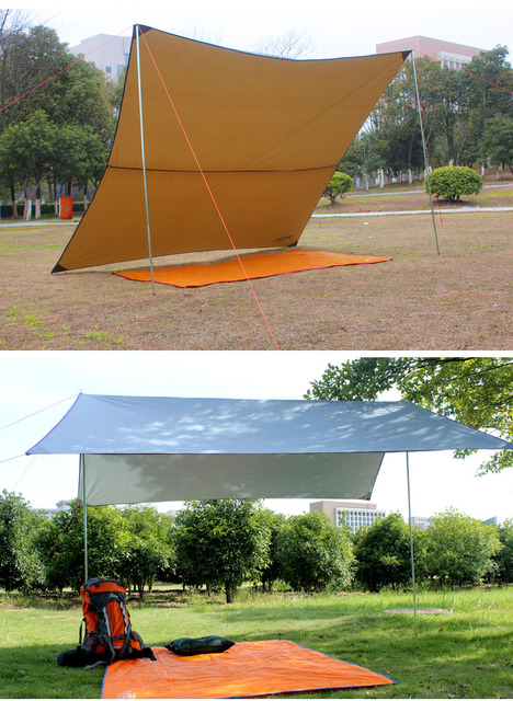 Portable Outdoor C&ing Beach Picnic Pad Cushion Canopy Tent Shelter Sun Shade & Portable Outdoor Camping Beach Picnic Pad Cushion Canopy Tent ...