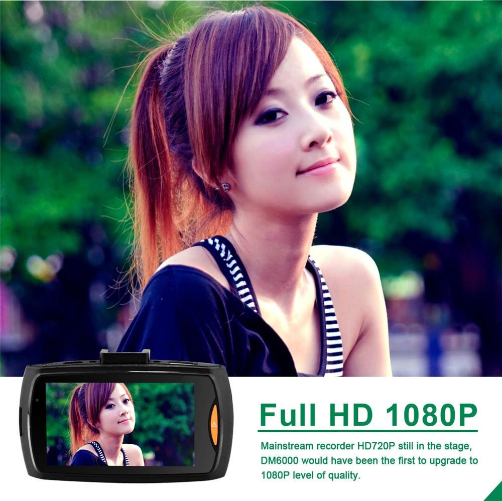 QUIDUX Dual lens G30 Car DVR Camera HD 1080P Video Recorder DVRs Night Vision Auto Dash cam Veicular Kamera two cameras Logger 6