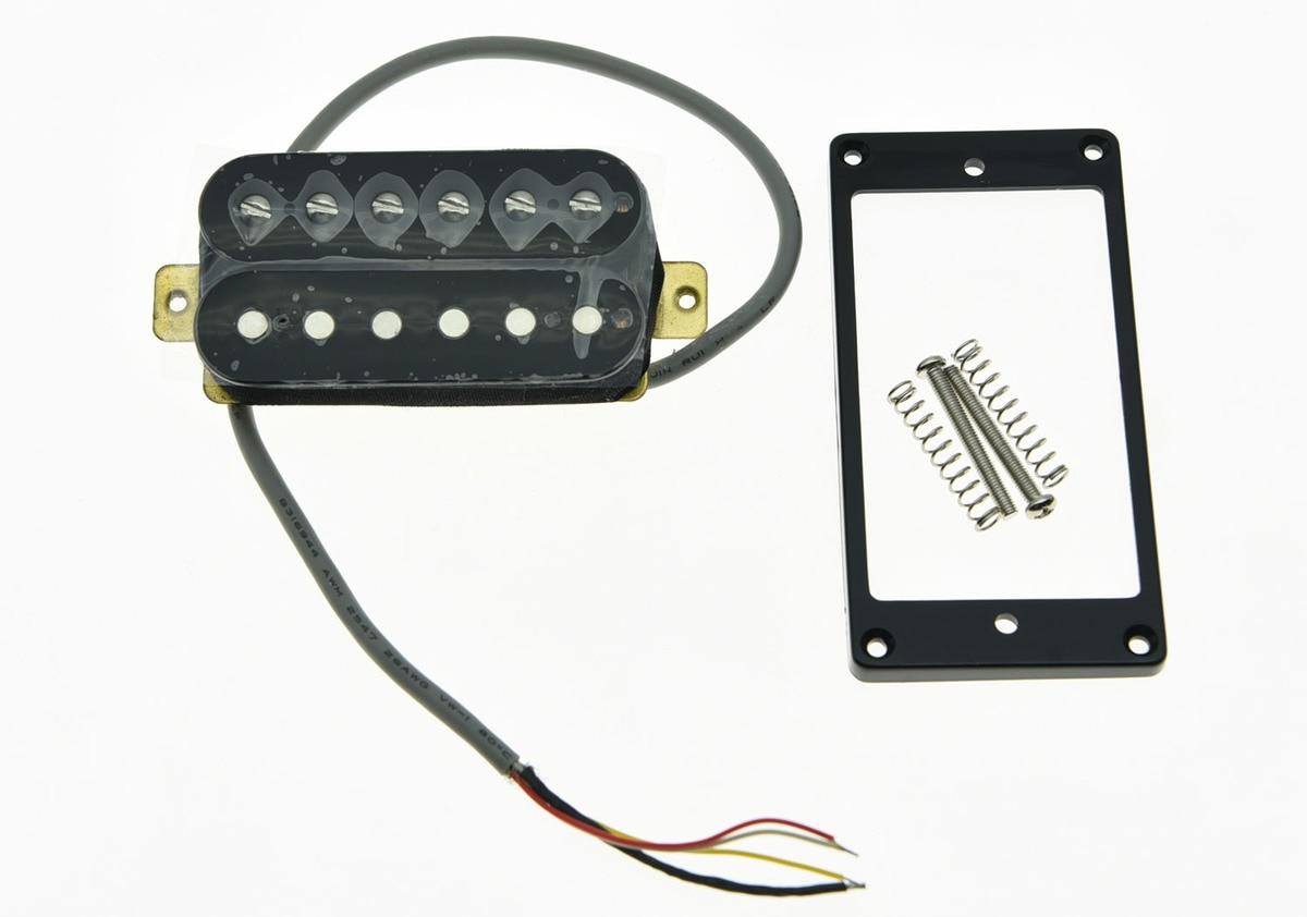 KAISH Black Alnico V Guitar Humbucker NECK Pickup 50's Vintage Sound Pickups kaish black p90 high power sound neck