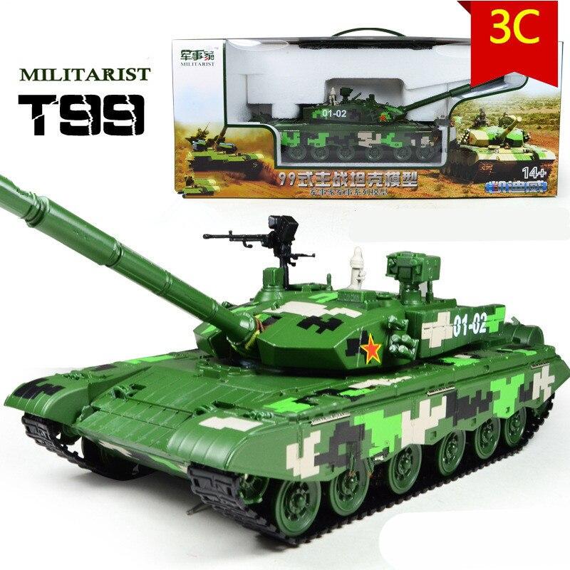 Grand modèle militaire, réservoir en alliage 1:35 modèle T99 MBT, réservoirs en métal, voitures moulées sous pression, bon cadeau, paquet cadeau, livraison gratuite
