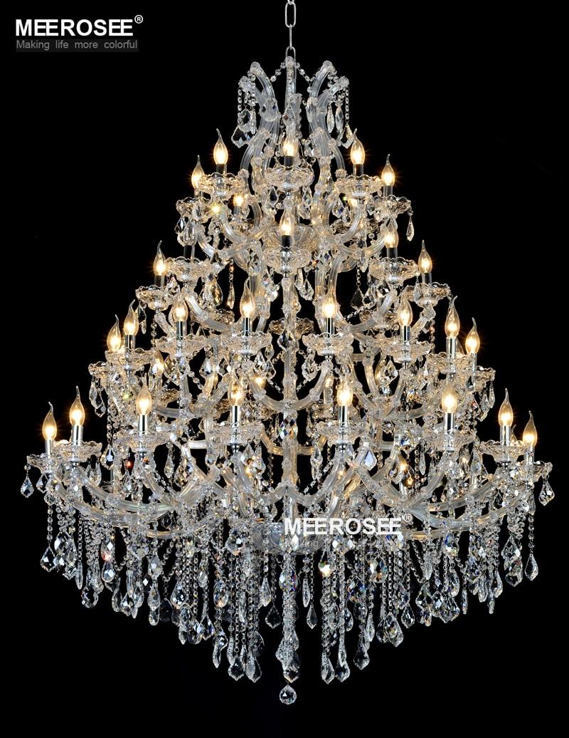 Lustre de candelabru de cristal mari de lux Maria Theresa Lumină de - Iluminatul interior - Fotografie 1