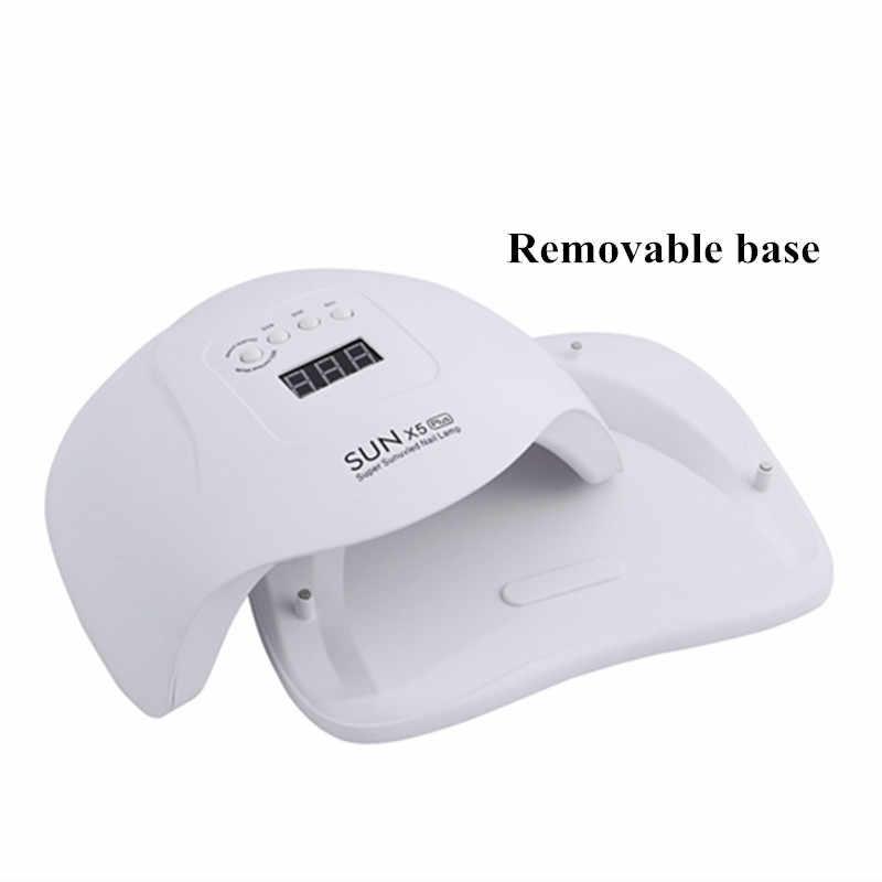 Un año de garantía/54/80 w UV lámpara LED para uñas secador de lámpara para manicura Gel de uñas secado lámpara para Gel barniz