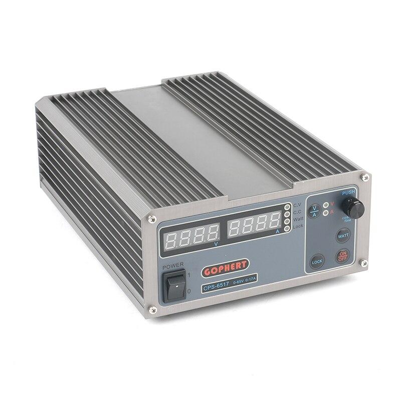 MCU PFC Compact numérique réglable DC alimentation laboratoire téléphone alimentation à découpage 65 V 17A 36 V 30A 60 V pour la réparation de laboratoire