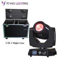 Flight Case 2pcs/lot moving head sharpy dj light beam 7r moving head light 230w sharpy 7r beam moving head light