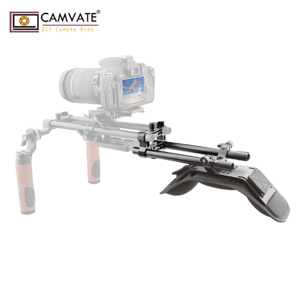 CAMVATE Best Cheap Dslr Cameral Shoulder Stabilizer Rig C1764 Camera Photography Accessories