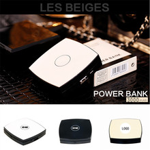 Luxury CC Makeup Mirror Power Bank 3000mAh For Iphone Smart phoneHigh Quality External Powerbank Mobile Battery Charger Pack
