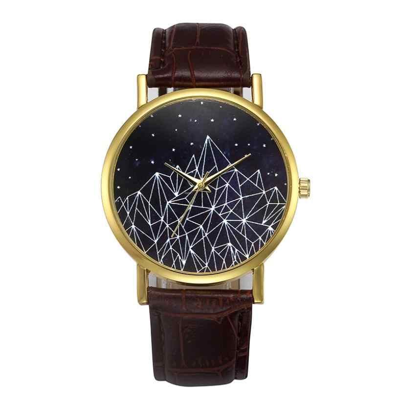 2018 עליון מותג יוקרה מפורסם Curren שעון קוורץ אנלוגי רצועת עור עיצוב האופנה נשים רטרו סגסוגת קוורץ שורש כף יד שעונים 50 p