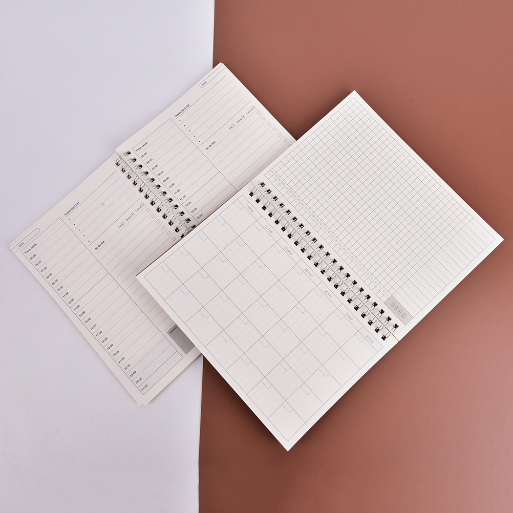 2018 year planner day monthly krafts notebook diary day planner