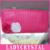 Ladycrystal Bonito Rose Car CD DVD Cartão Disk Caso Visor Titular Clipper Bag