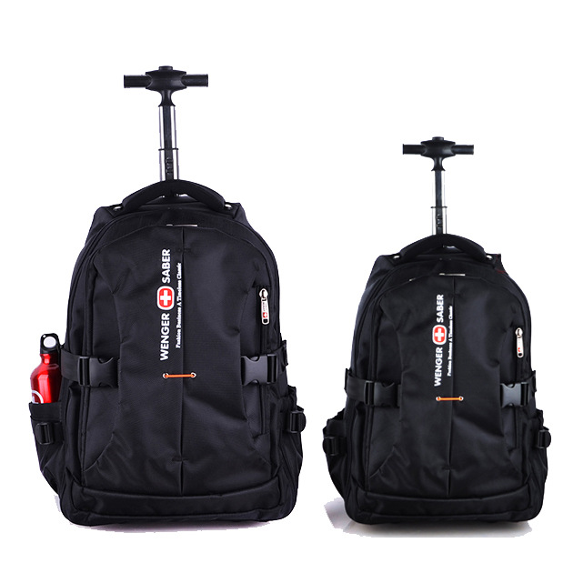 swisswin hot sale wenger swiss army bag laptop backpack men rolling mainland