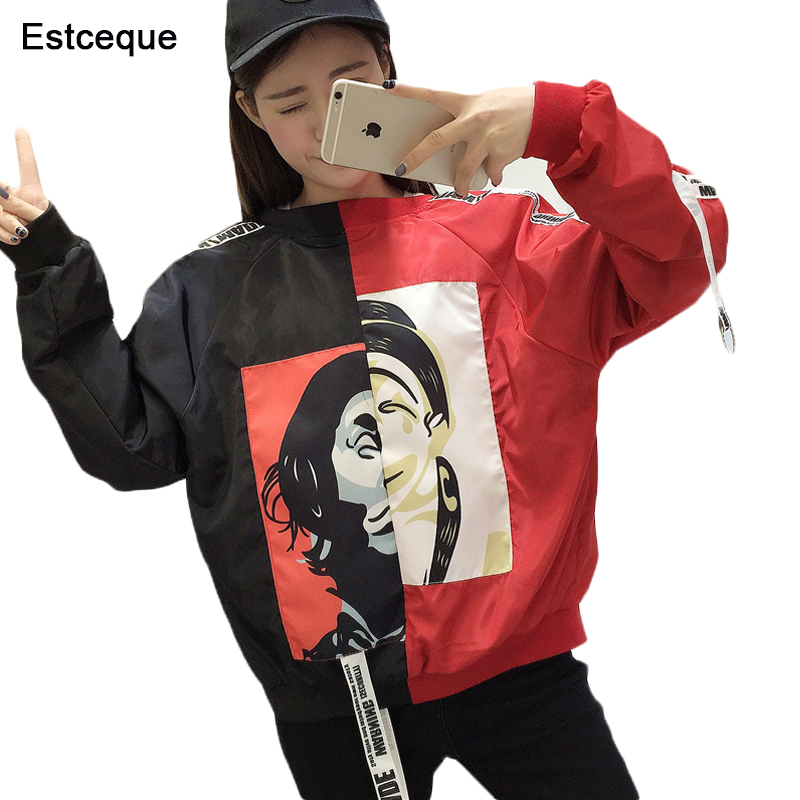 Basic     Jackets   Women 2018 New Fashion Women's   Jacket   Casual Flight Bomber   Jacket   Slim Windbreaker Female Outwear Women Coat