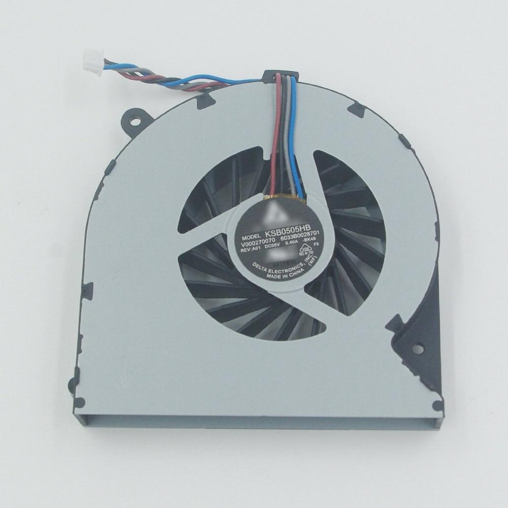 For Toshiba Satellite S855-S5252 CPU Fan
