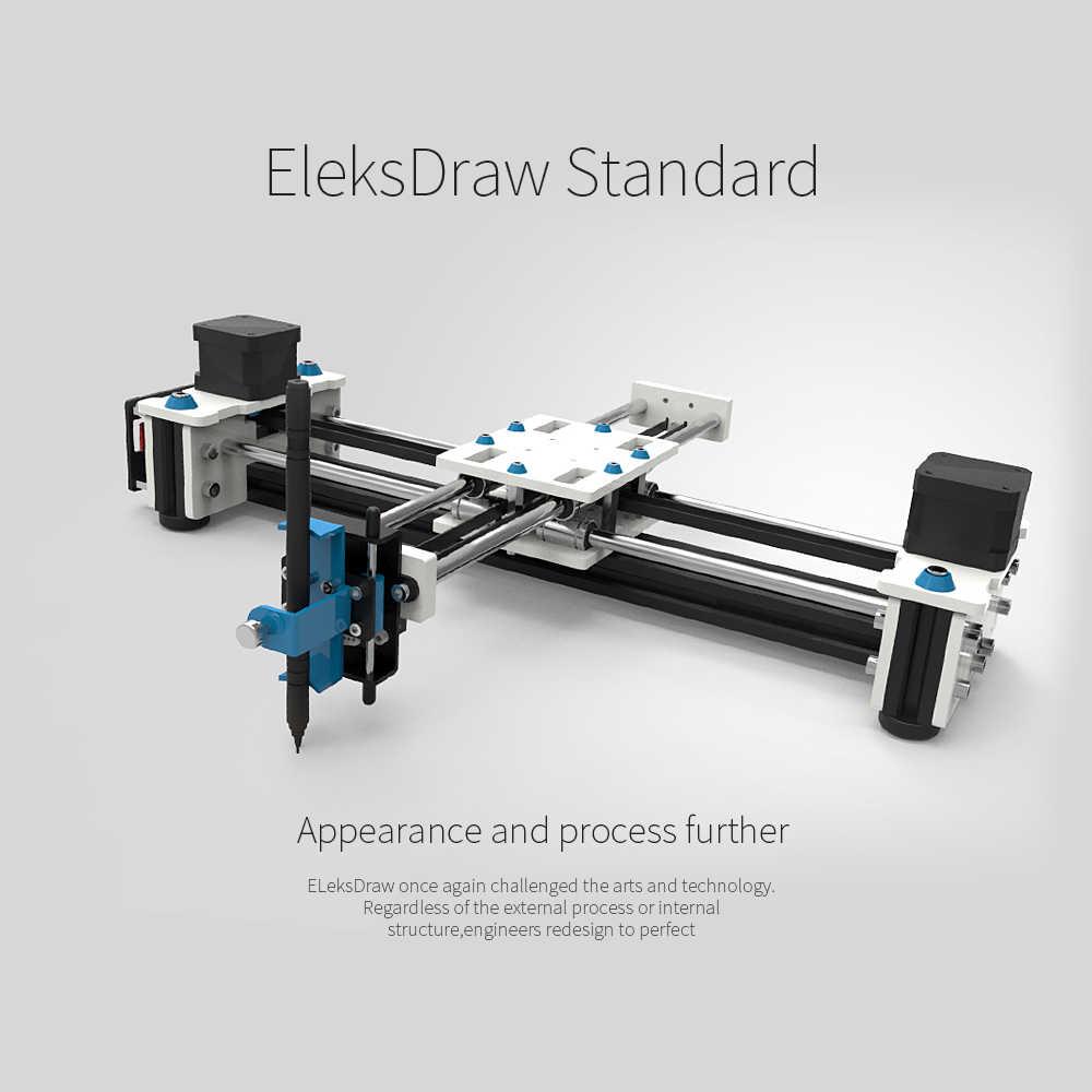 הגעה חדשה שולחן עבודה DIY פלוטר שולחן העבודה EleksDraw USB DIY XY פלוטר עט ציור רובוט ציור מכונת 100-240V