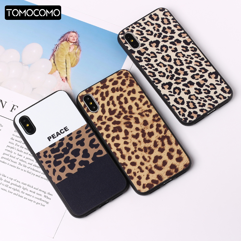 Fashion <font><b>Sexy</b></font> Leopard Print Panther Soft TPU Phone Case <font><b>Cover</b></font> Coque For <font><b>iPhone</b></font> 7 7Plus 6 6S 5S <font><b>8</b></font> 8Plus X XS Max Rated image