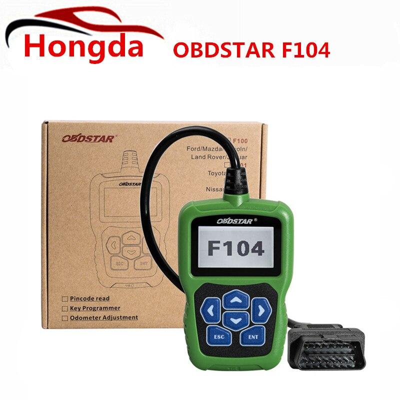 Obdstar F104 key программист для Chrysler/Jeep/Dodge с одометром и Булавки код читателя Функция obdstar F104 является професси