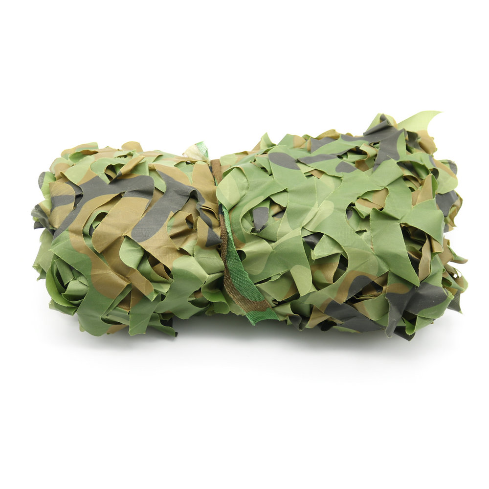 Couverture Camouflage chasse camping camo net 2x4 m woodland feuilles camouflage net