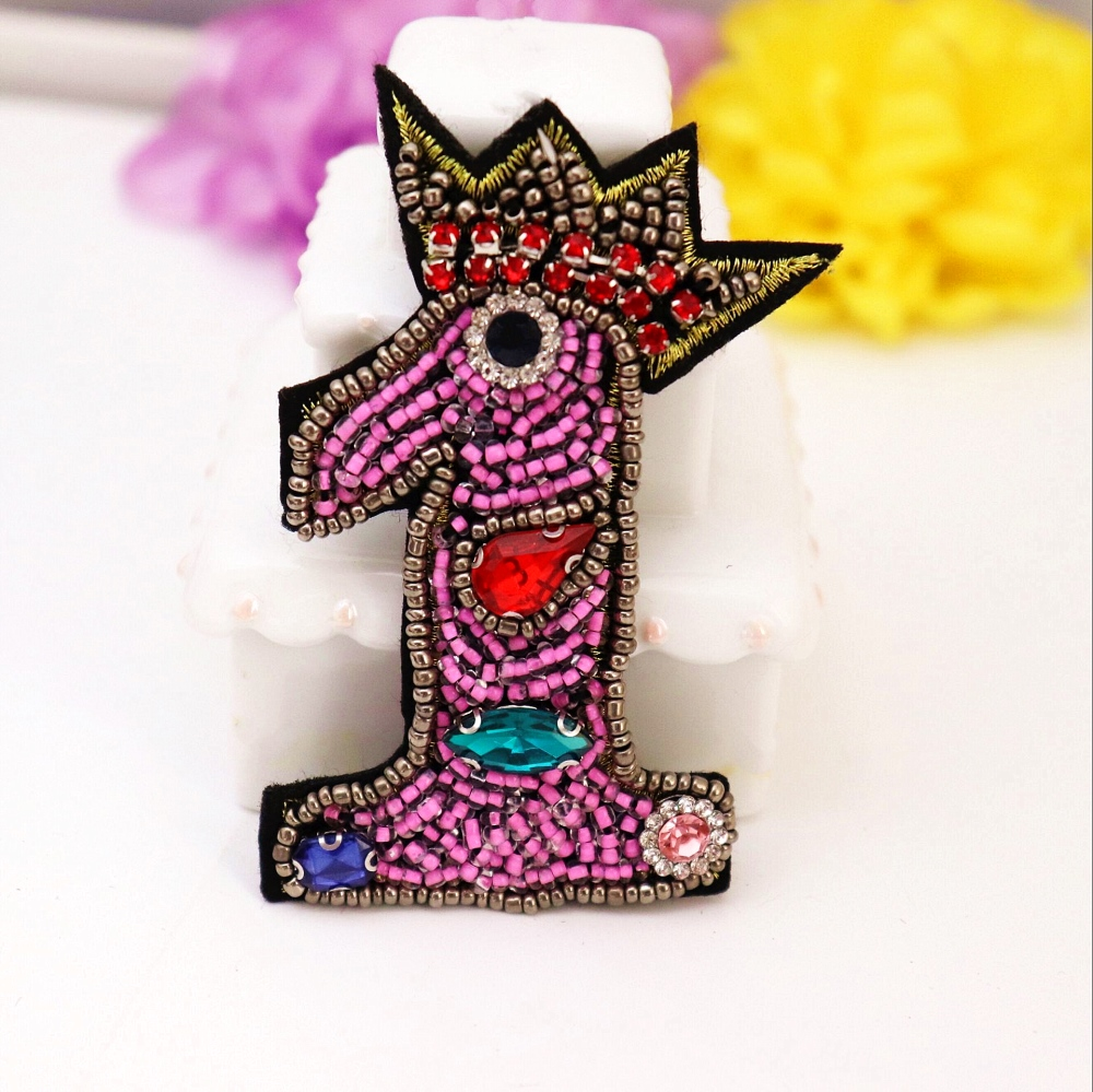 10pc//set Embroidered Iron On Fashion Sequin Patch Rolling Stones patches