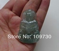 dh 0046 Masterpiece Translucent Ice Natural A Jadeite Chinese Kwan yin Necklace Pendant
