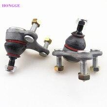 HONGGE 1 пара передний нижний рычаг шаровой головкой для Beetle Гольф MK5 MK6 A3 Q3 Octavia Seat Leon 1K0407365C 1K0 407 366C