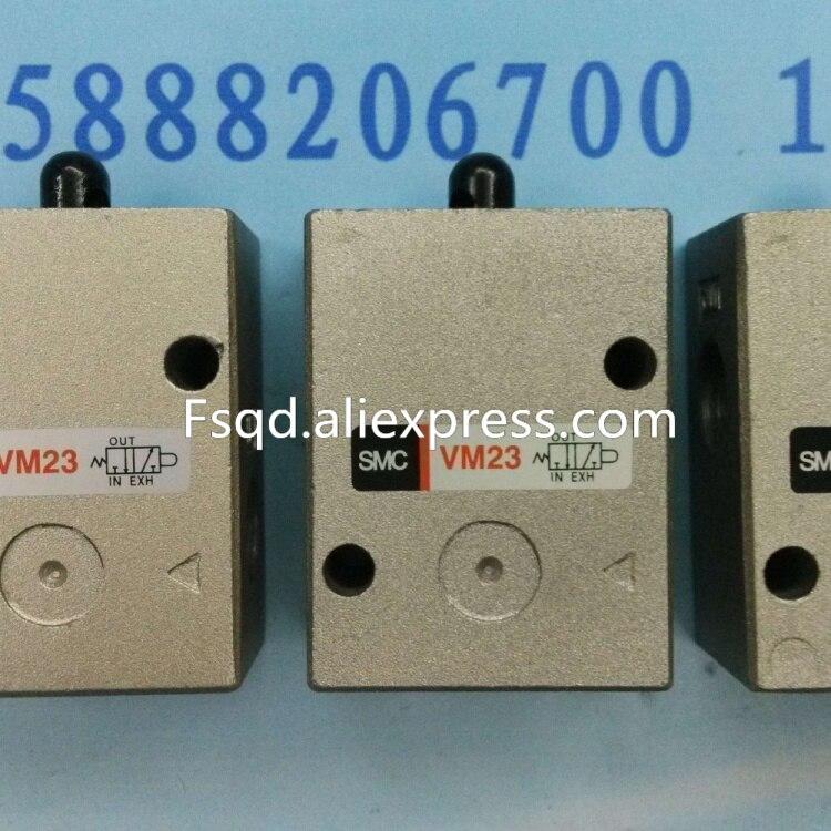 VM230-02-00 SMC hand valve mechanical valve pneumatic component stainless steel roller VM series коврик для мышки круглый printio дойдем до сочи