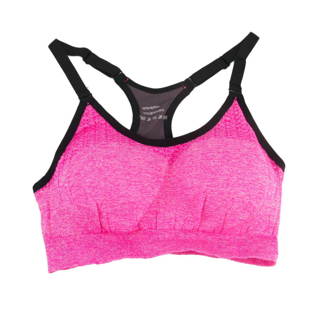 Sports Clothing Sports Bras Professional Anti Vibration Bra Yoga Training Running Padded Wireless Home Daily Sleep Bra Top Sportwear