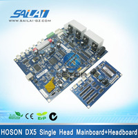 Hot sale!a set! printer single main board headboard for dx5 head inkjet printer hoson