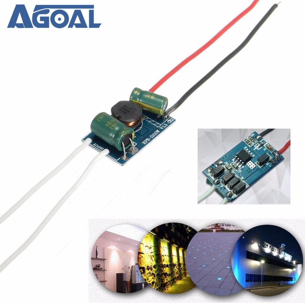 12-24V High Power Driver Supply Constant Current Module For 10W LED Light Chip Lamp Free Shipping