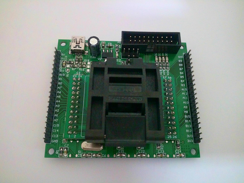 STM32 F103C/030C/051C Full Series 48 Pin Chip Writer Burner LQFP48