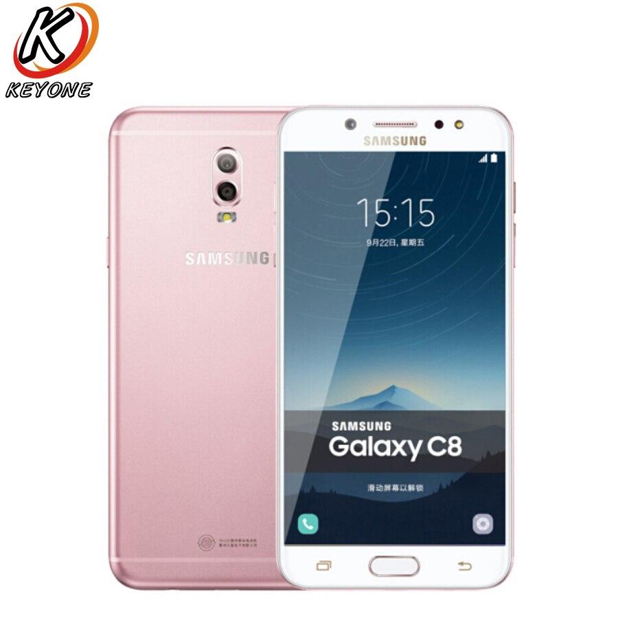 Новый Samsung GALAXY C8 C7100 LTE мобильный телефон 5,5 3 ГБ ОЗУ 32 Гб ПЗУ двойная задняя камера 3000 мАч Android Dual SIM смартфон - 5