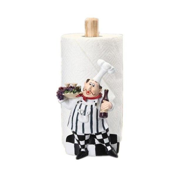europischen stil mode kche chef resin freistehenden toilettenpapierhalter - Freistehender Toilettenpapierhalter Mit Lagerung