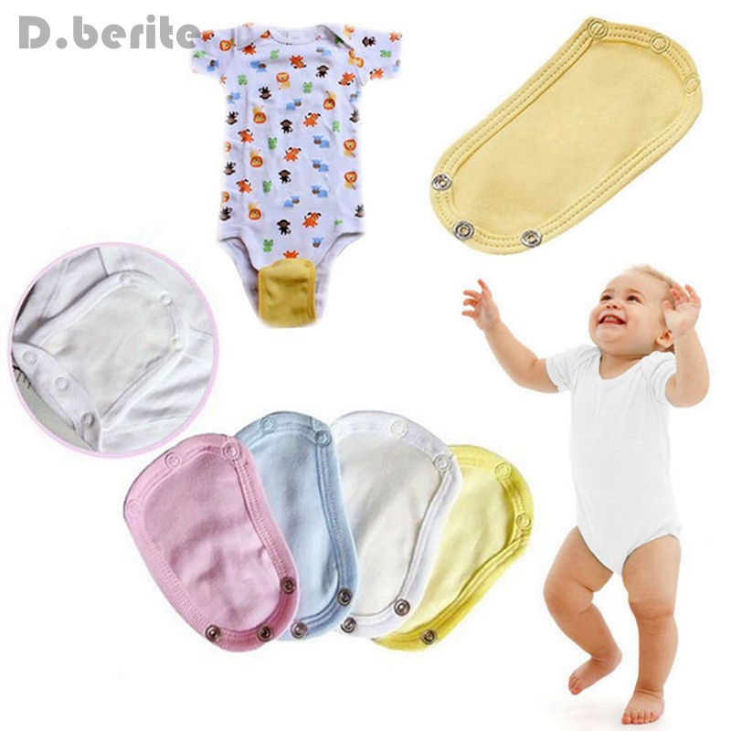 5 pcs Wholesale Girl Boy Practical Package Fart Clothes Longer Extension Piece Baby Diaper For Easy Change Infant New LNY9055