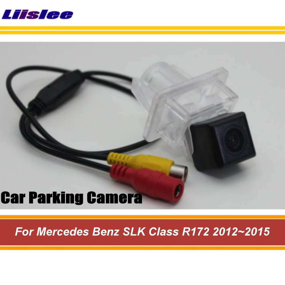 Liislee For Mercedes <font><b>Benz</b></font> <font><b>SLK</b></font> Class MB <font><b>R172</b></font> 2012~2015 Car Rear View Camera / HD Back Up Reverse Camera / CCD Night Vision image